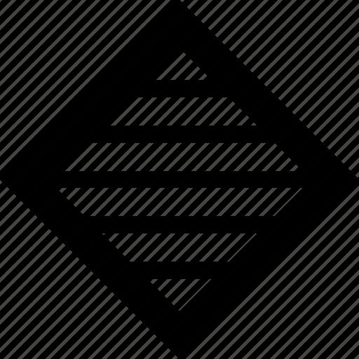 cube, design, lines icon