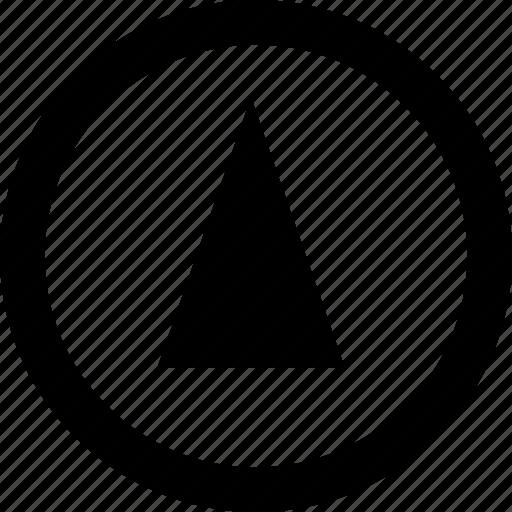 abstract, creative, menu, upload icon