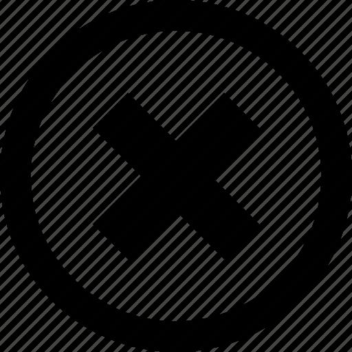 delete, option, x icon
