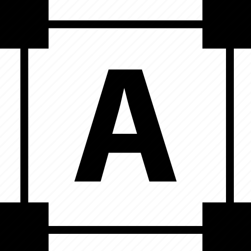 a, abstract, create, creation, edit, shape, type icon