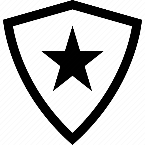 abstract, create, creation, shape, shield, star icon