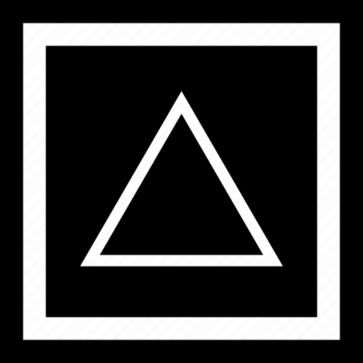 abstract, create, creation, hit, shape, triangle icon