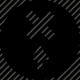 arrow, delete, point, pointer, x icon