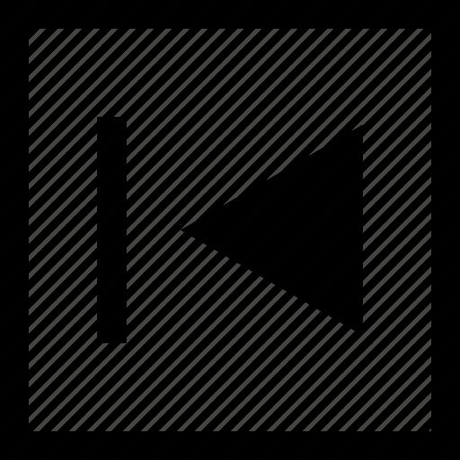 arrow, left, rewind, youtube, youtuber icon