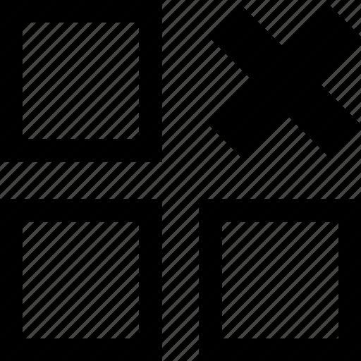 abstract, creative, ui, ux, x icon