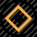 abstract, center, creative, cube, design, eye icon