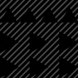 abstract, arrow, arrows, creative, cubes, design icon