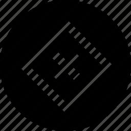 abstract, boxed, center, creative, delete, x icon