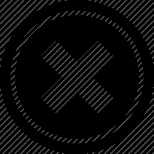 abstract, creative, cross, delete, menu, option, x icon