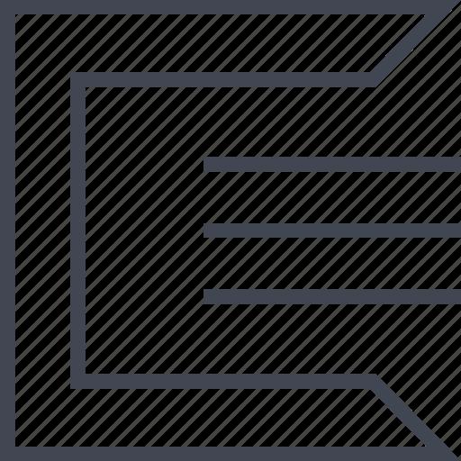 edge, lines, three, tron icon