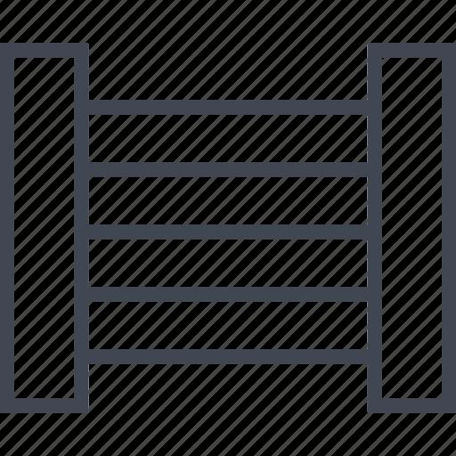 column, side, two, ways icon