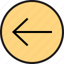 arrow, exit, point icon