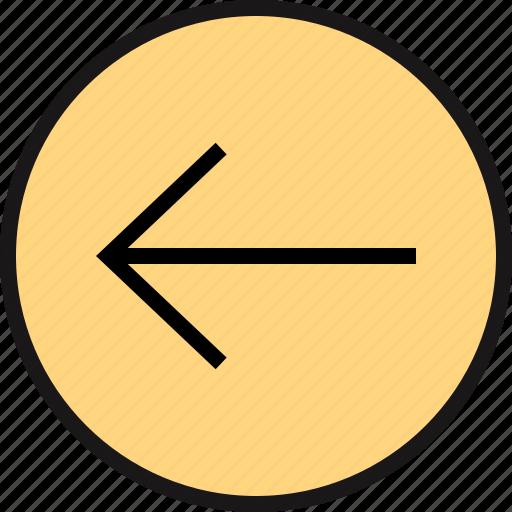arrow, exit, point icon
