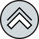 arrow, direction, upload icon