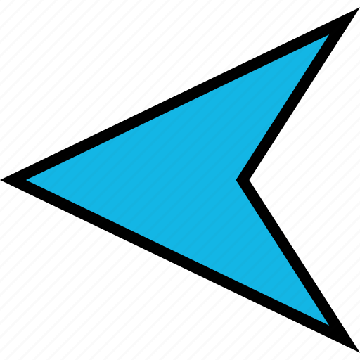 Arrow, back, left, point icon - Download on Iconfinder