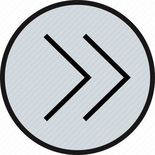 arrow, pointing, right icon