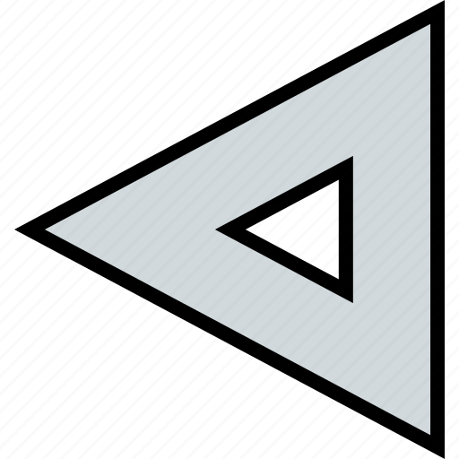 arrow, direction, point, triangle icon