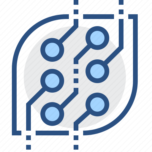 abstract, board, circuit, electronics, technology icon