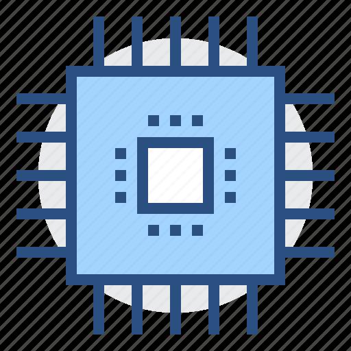 chip, gpu, processor, technology icon