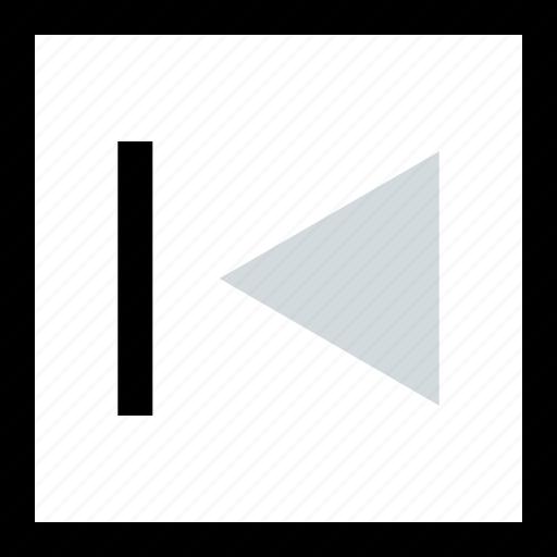 back, creative, left, rewind icon