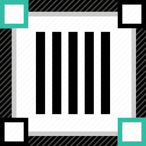 barcode, code, creative icon