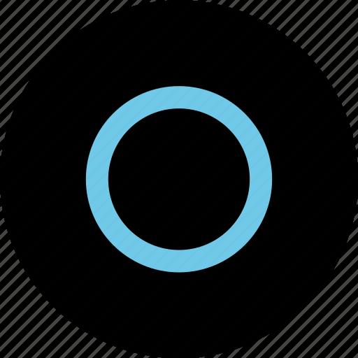 center, design, dot, hit icon