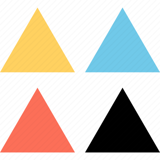 Design, four, triangles icon - Download on Iconfinder
