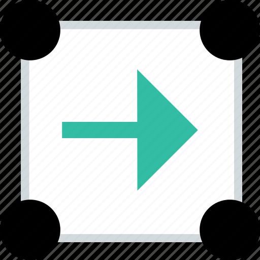 abstract, arrow, go, next icon