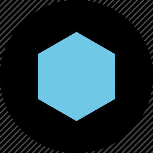 Creative, eye, hexagon icon - Download on Iconfinder