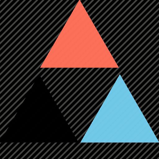 design, diamonds, link icon