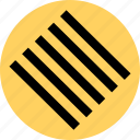 creative, lines, scratch icon