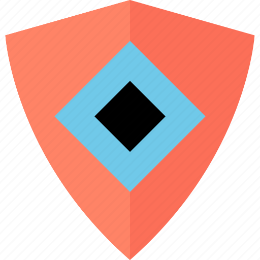 Abstract, creative, eye, shield icon - Download on Iconfinder