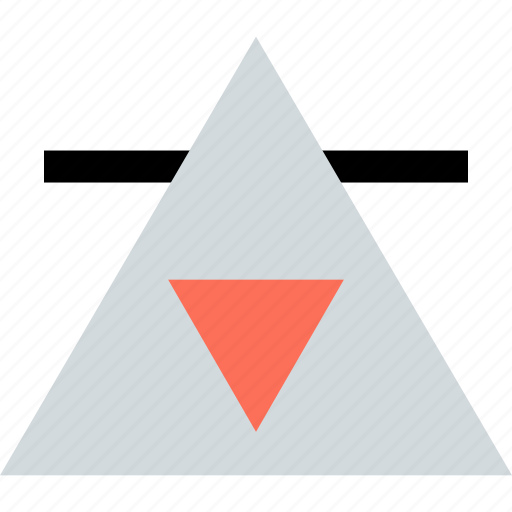 Arrow, creative, triangle icon - Download on Iconfinder
