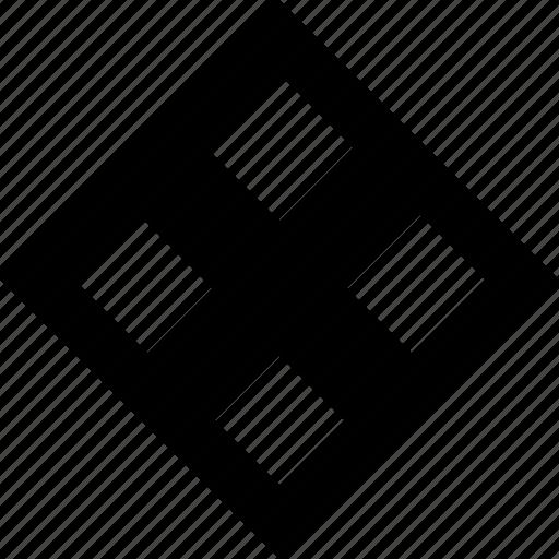 cube, eye, inside icon
