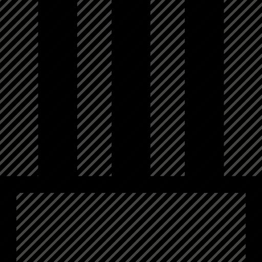 abstract, column, design icon