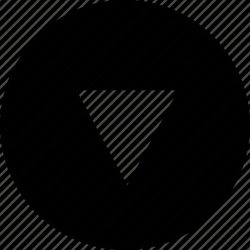 arrow, download, pointer icon
