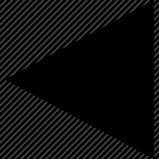 arrow, direction, left, pointer icon
