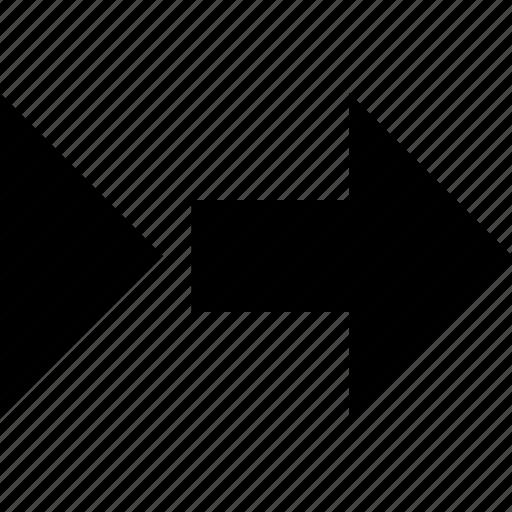 arrow, design, point, right icon