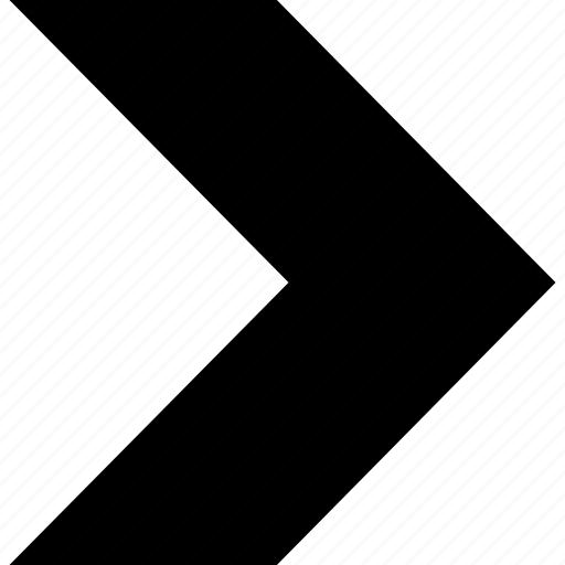 arrow, pointer, right icon