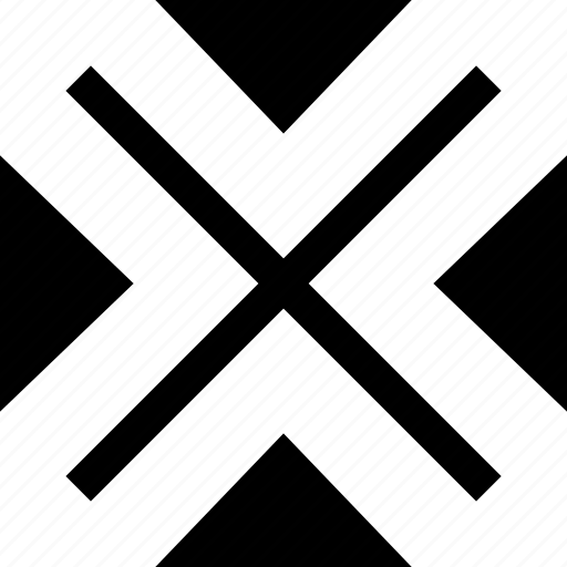 cross, delete, design, x icon
