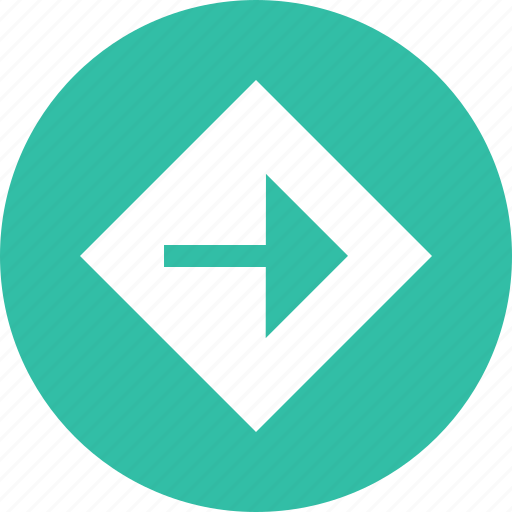 abstract, arrow, creative, design, poing, right icon