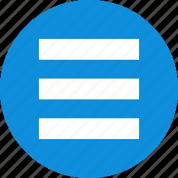 abstract, creative, design, lines, menu, option, setup icon