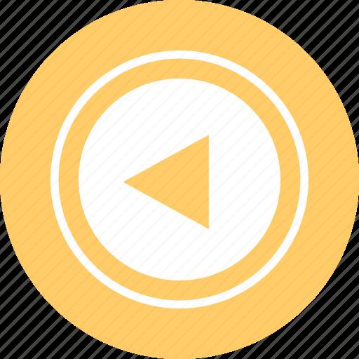 arrow, design, left, point icon