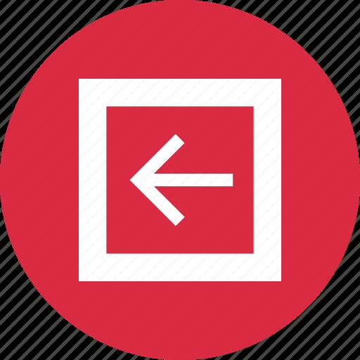 back, design, left, point icon