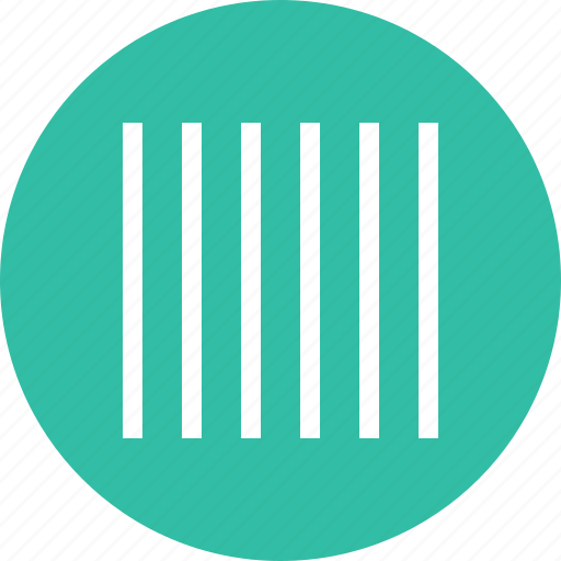 barcode, design, lines icon