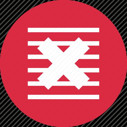 abstract, creative, cross, delete, design, lines, x icon