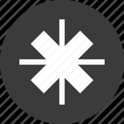 abstract, creative, cross, delete, design, x icon