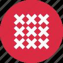 crosses, design, multiple icon