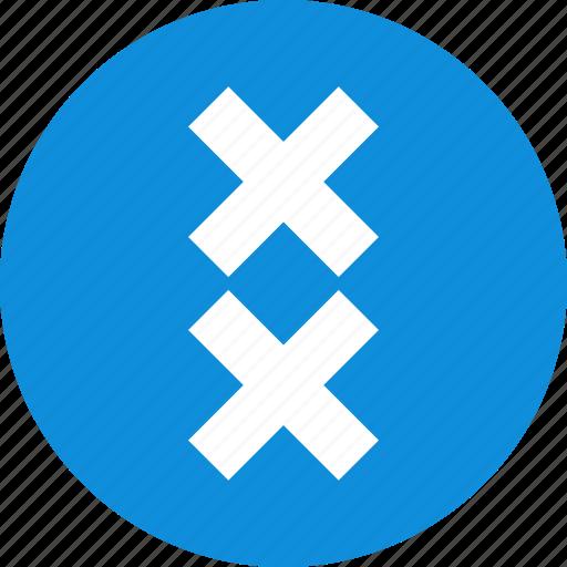 crosses, delete, design, two icon