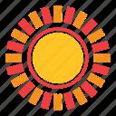 abstract, flower, nature, shape, sun, sunset, weather